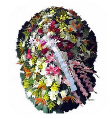 Coroa de Flores Santos K