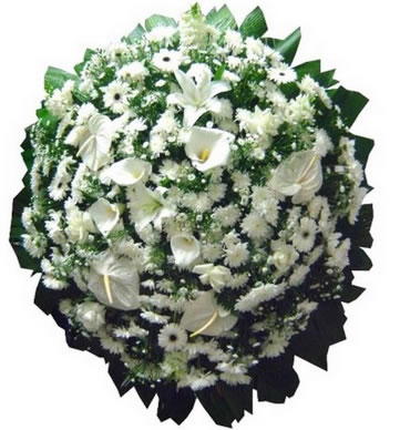 Coroa de Flores Requinte C | Coroas 24 Horas