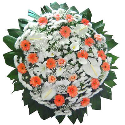 Coroa de Flores Requinte E | Coroas 24 Horas