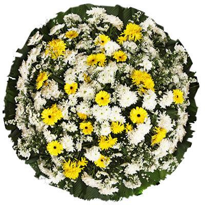 Coroa de Flores Tradicional A | Coroas 24 Horas