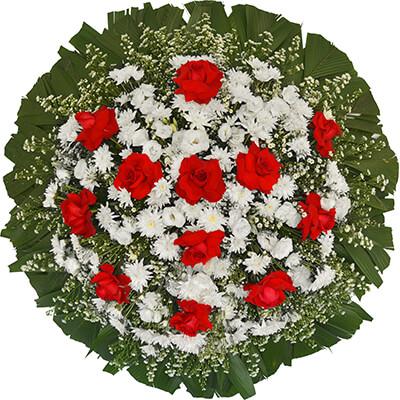 Coroa de Flores Santos Q