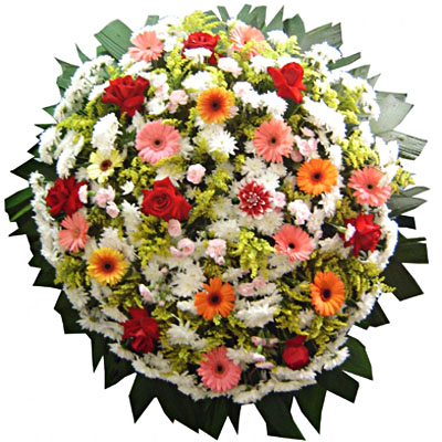 Coroa de Flores Requinte D | Coroas 24 Horas