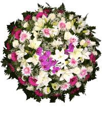 Coroa de Flores Elegance F | Coroas 24 Horas