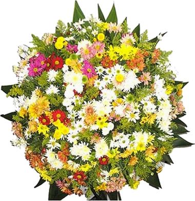 Coroa de Flores Santos B