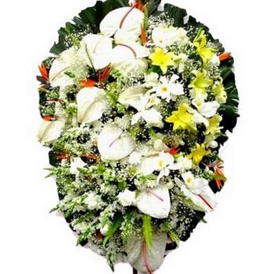 Coroa de Flores Elegance A | Coroas 24 Horas
