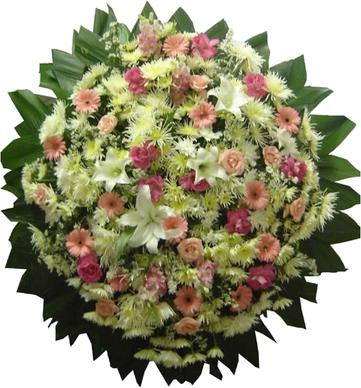 Coroa de Flores Requinte A | Coroas 24 Horas