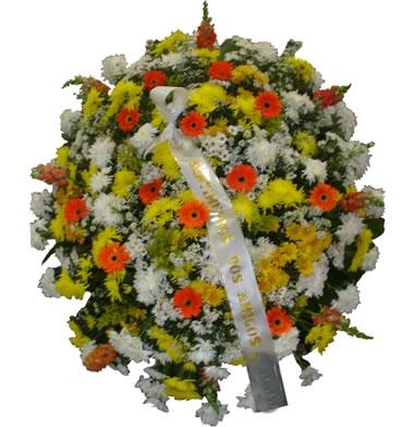 Coroa de Flores Santos C