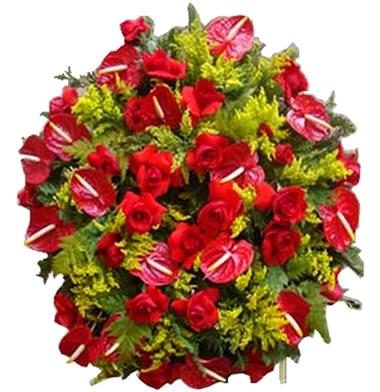 Coroa de Flores Santos D